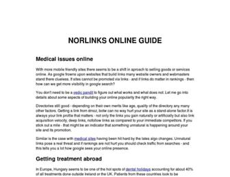 Thumbshot of Norlinks.com