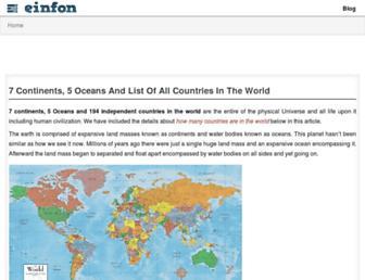 einfon.com screenshot