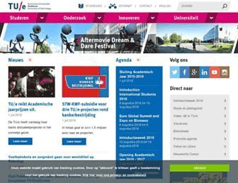 tue.nl screenshot