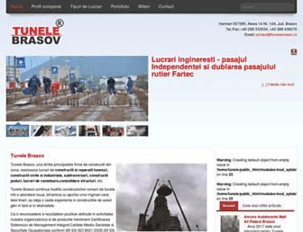tunele.com screenshot