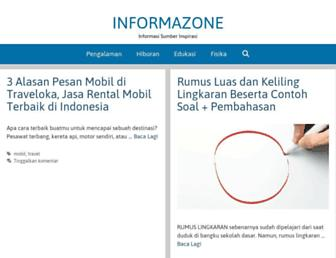 informazone.com screenshot