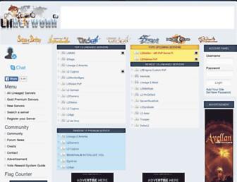 l2network.eu screenshot