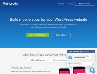 Thumbshot of Mobiloud.com