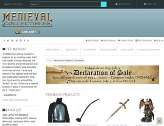 Thumbshot of Medievalcollectibles.com