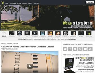 worldofleveldesign.com screenshot
