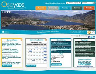 osoyoos.ca screenshot