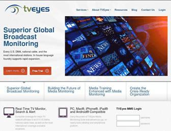 Thumbshot of Tveyes.com