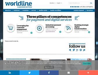 worldline.com screenshot