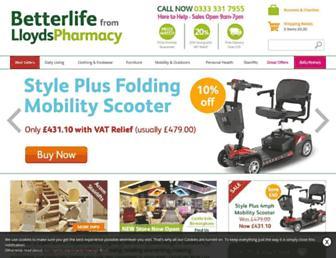 betterlifehealthcare.com screenshot
