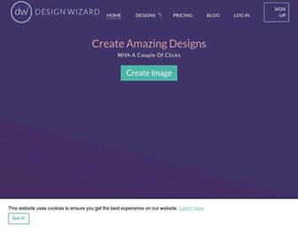 designwizard.com screenshot