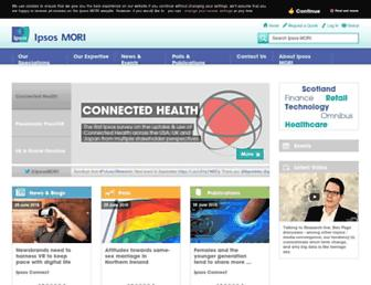 Thumbshot of Ipsos-mori.com