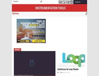 instrumentationtools.com screenshot