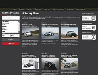 autoworld.co.za screenshot