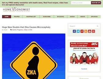 Thumbshot of Thehealthyhomeeconomist.com