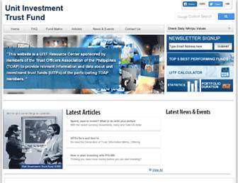 uitf.com.ph screenshot