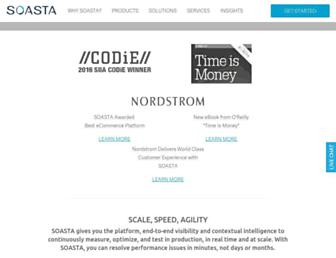 Thumbshot of Soasta.com