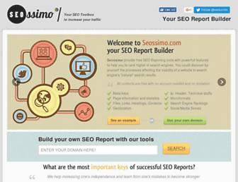 seossimo.com screenshot