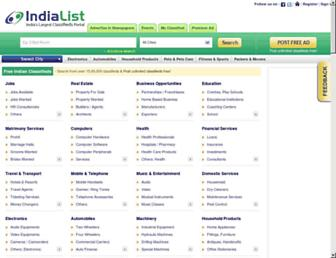 Thumbshot of Indialist.com