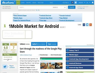 1mobile-market.en.softonic.com screenshot