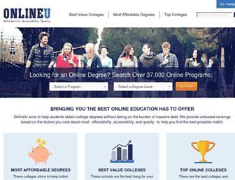 onlineu.org screenshot