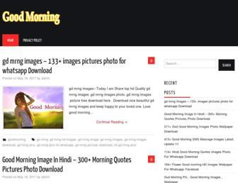 goodmorningimagesdownload.com screenshot