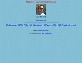 nicolascourtois.com screenshot