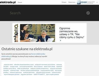 poszukaj.elektroda.pl screenshot