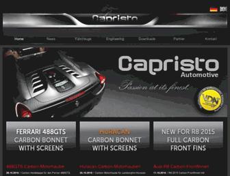 capristo.de screenshot