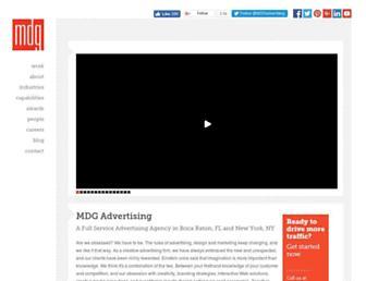 mdgadvertising.com screenshot
