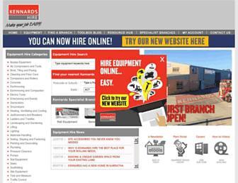 kennards.com.au screenshot