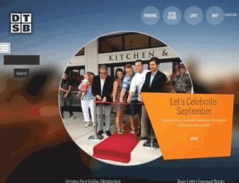 downtownsouthbend.com screenshot