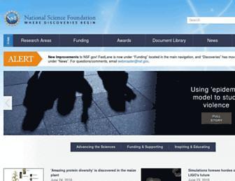 Thumbshot of Nsf.gov