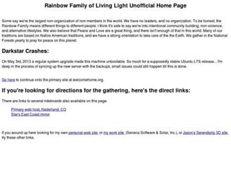welcomehome.org screenshot