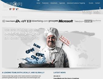 Thumbshot of Creafi-online-media.com