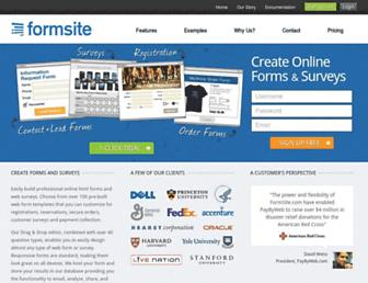 Thumbshot of Formsite.com
