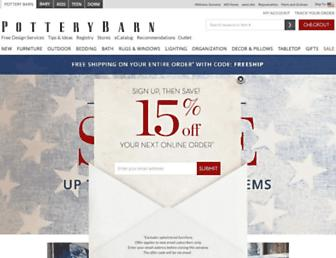 Thumbshot of Potterybarn.com