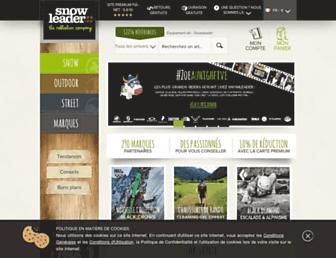 snowleader.com screenshot