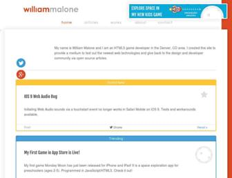 Thumbshot of Williammalone.com