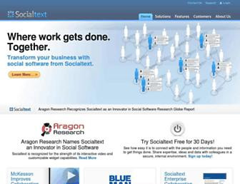 Thumbshot of Socialtext.com