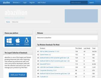 abazillion.com screenshot