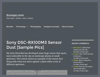 blog.scoopz.com screenshot
