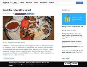 reinisfischer.com screenshot