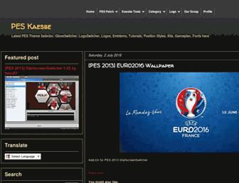 pes-kaesbe-patch.blogspot.com screenshot