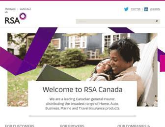 rsagroup.ca screenshot