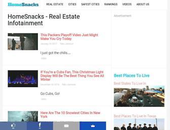 homesnacks.net screenshot