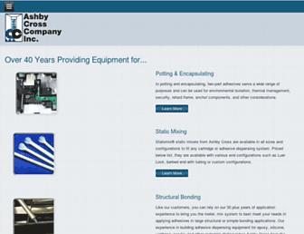 ashbycross.com screenshot