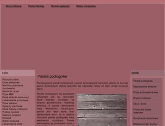 Main page screenshot of atlantica-online.pl