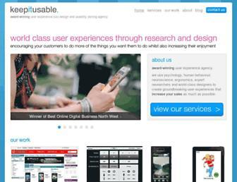 keepitusable.com screenshot
