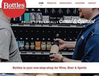 shopbottles.com screenshot