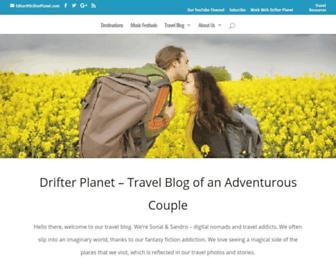 drifterplanet.com screenshot